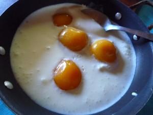 huevos de postre