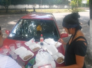 arroz chino, rumbo a san agustin