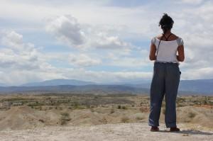 la inmensidad del desierto, san agustin