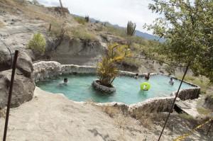 piscina en el desierto, san agustin
