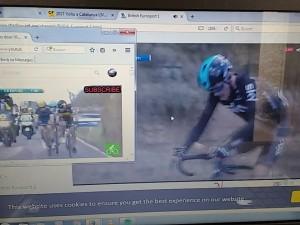 viendo ciclismo, para blog
