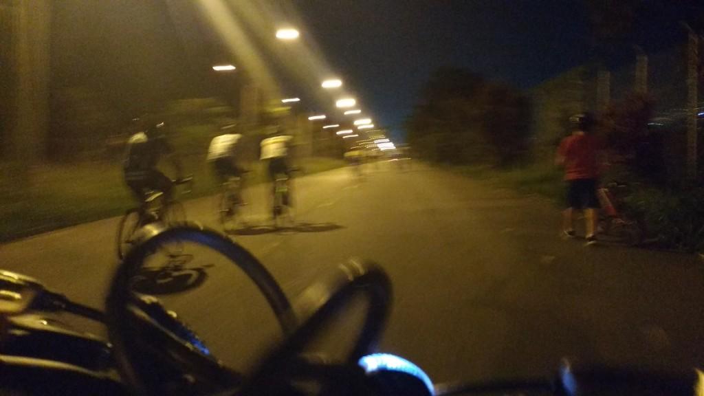 ciclovía en juan pablo