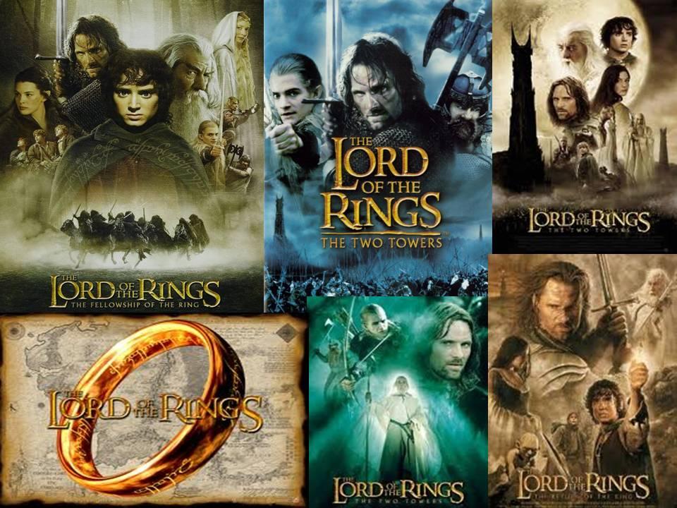 el señor de los anillos, la saga